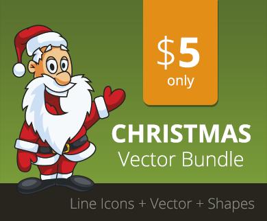 High Quality Christmas Card Vector Graphics