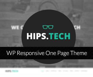 HipsTech - Digital Agency WordPress Theme