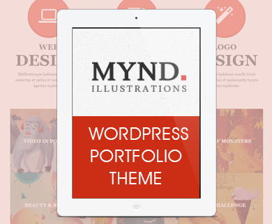 Mynd - Stylish WordPress Portfolio Theme for Creatives and Blogs