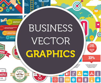 Business Vector Graphics - Sales Banners, Badges and Icons