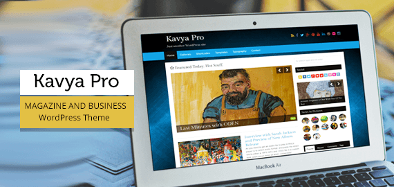 WordPress – Blog and Magazine Theme – Kavya Pro