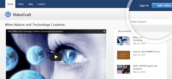 videocraft - business video blog wordpress theme