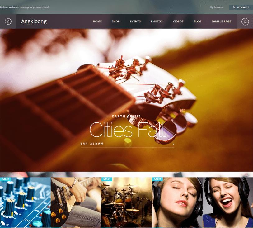 angkloong - woocommerce wordpress theme