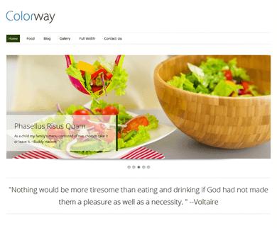 Colorway v3 - WordPress Responsive Theme