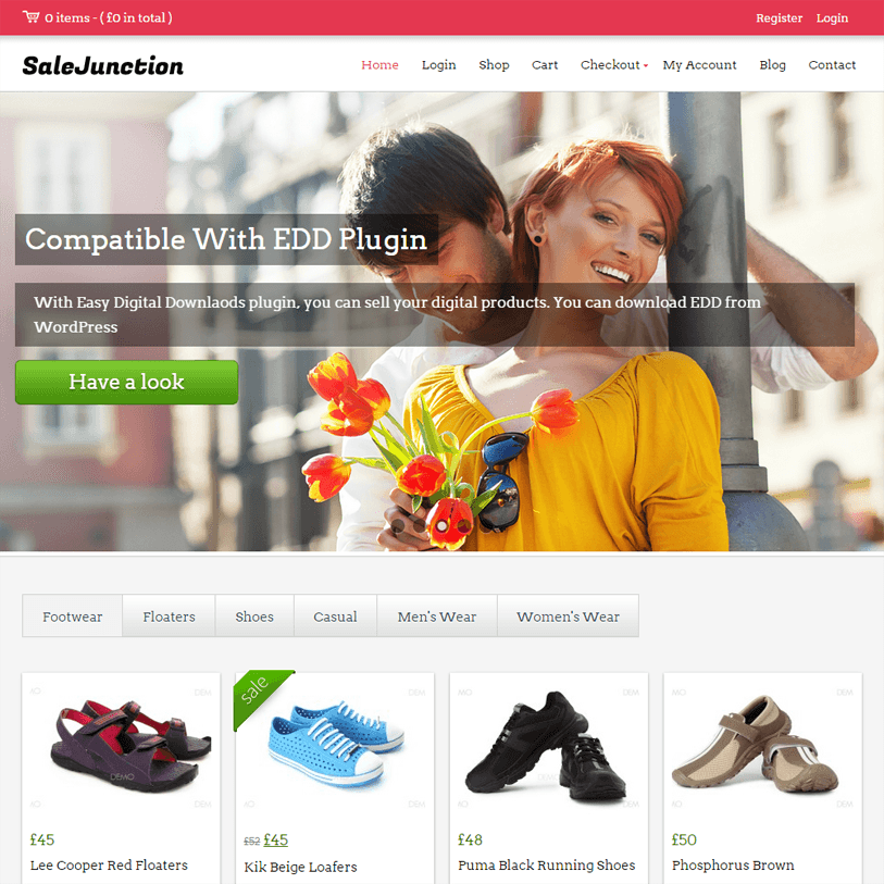 salejunction - woocommerce wordpress theme