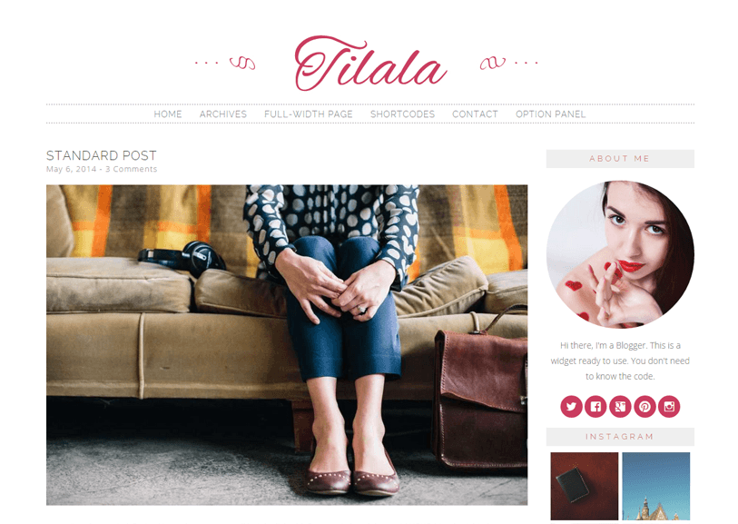 Tilala - news, blog and magazine wordpress theme