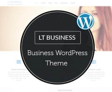 LT Business WordPress Theme