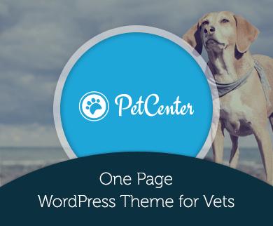 Pet Center - Veterinary Care Business WordPress Theme