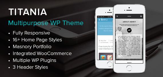 Titania – Multipurpose WordPress Theme