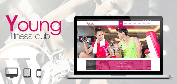 Young – WordPress Theme For Fitness Centers