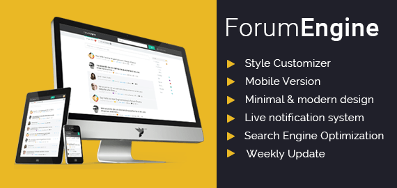 ForumEngine – Discussion WordPress Forum Theme