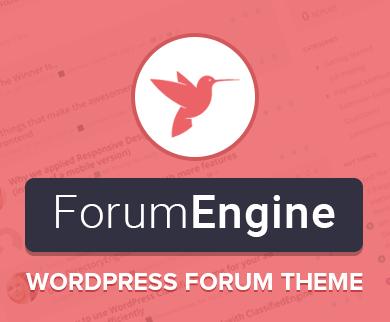ForumEngine - Discussion WordPress Forum Theme