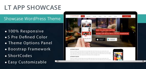 LT App Showcase App Showcase WordPress Theme