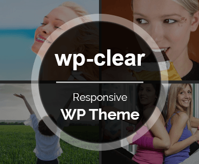 Wp-Clear - A Responsive Premium WordPress Theme