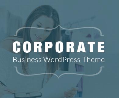 'Corporate' - A WordPress Business Theme