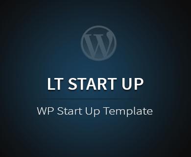 LT StartUp WordPress Theme to Start Your Business