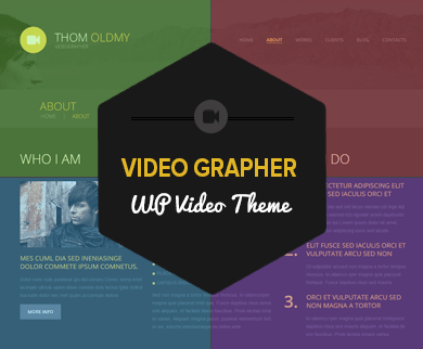 Videographer - WordPress Responsive Video Theme