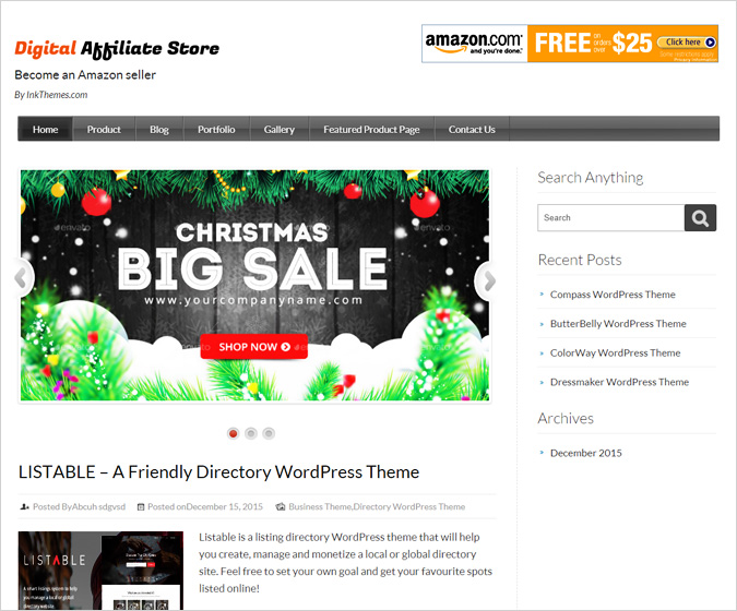 Digital Affliate WordPress Theme