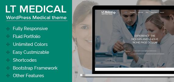 LT Medical – WordPress Medical Theme