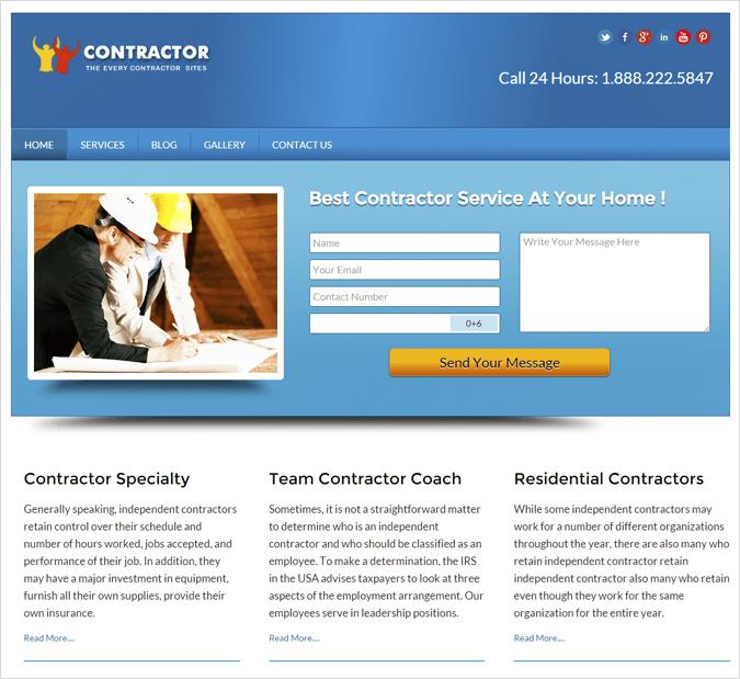 Local Business WordPress Landing Page Theme