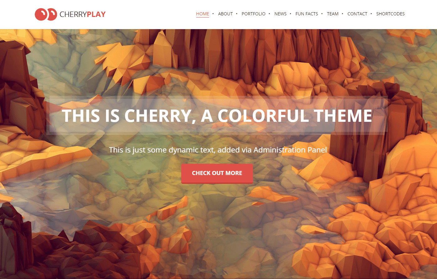cherry-lanfding-page-wp-theme