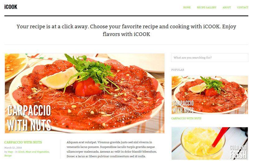 icook for restaurants