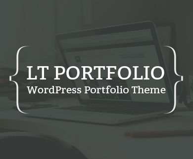 LT Portfolio WordPress Theme - 100% Responsive