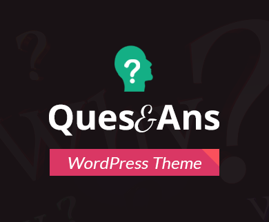 Ques&Ans - Question Answer Forum WordPress Theme