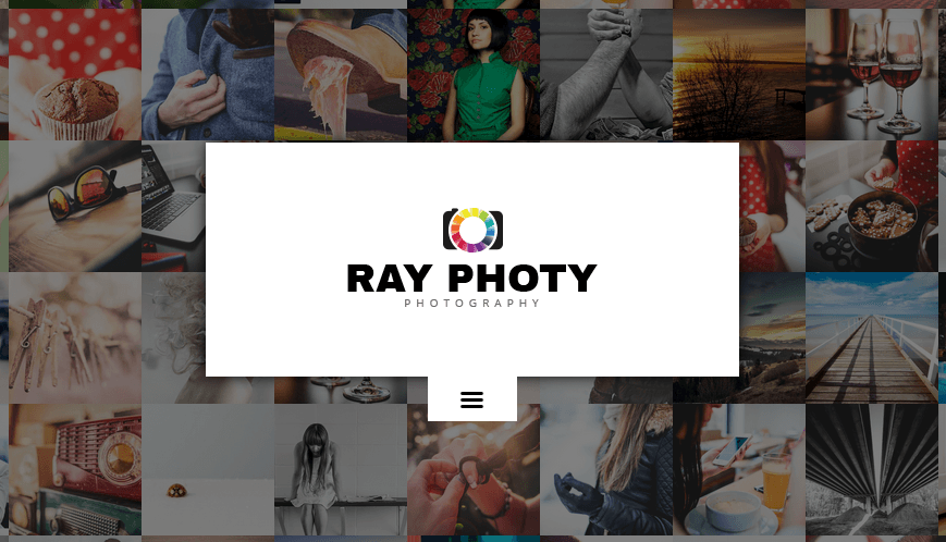 ray - responsive photography wordpress theme