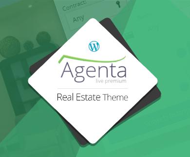 Agenta - WordPress Real Estate Theme