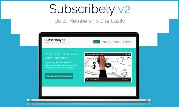 buiding membership website