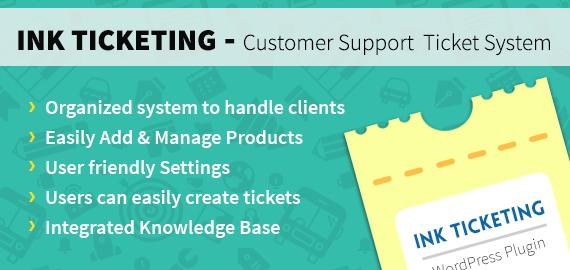 wordpress ticket system