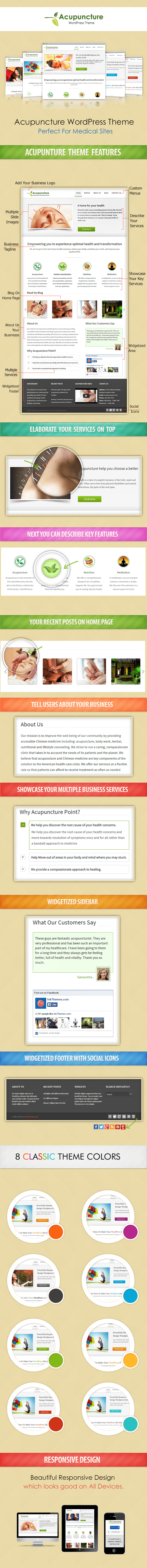acupuncture wp sales page