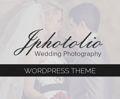 JPhotolio - Wedding Photography WordPress Theme