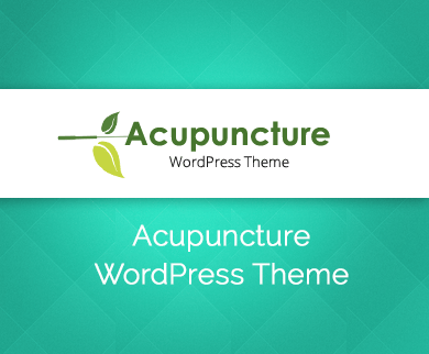 Acupuncture - Acupressure Clinic WordPress Theme