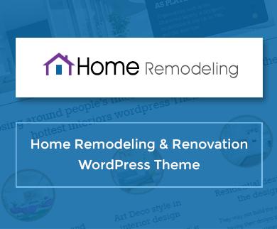 Home Remodeling - Home Remodeling & Renovation WordPress Theme