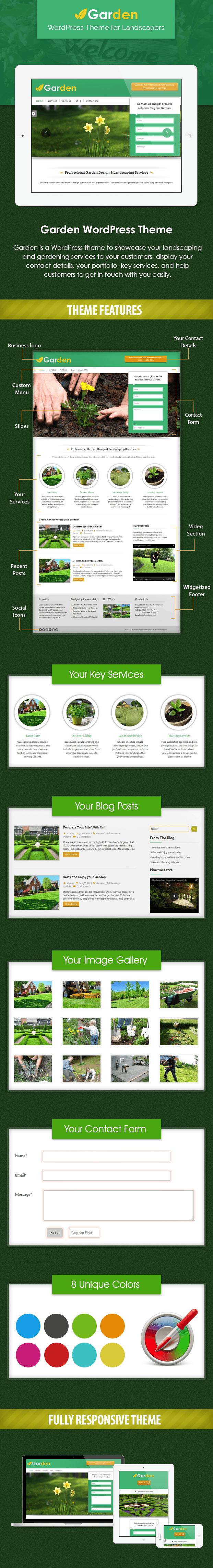 landcapers wordpress theme