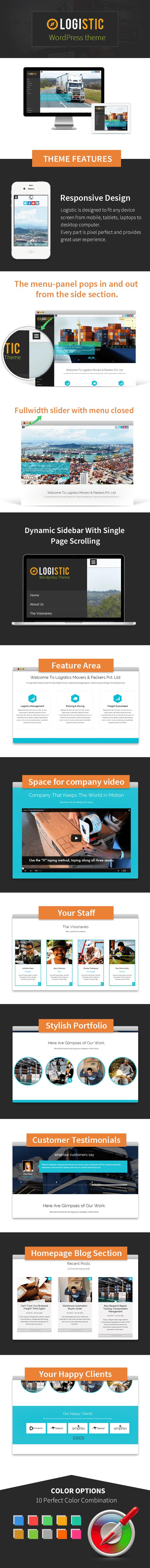 logistic wordpress business theme