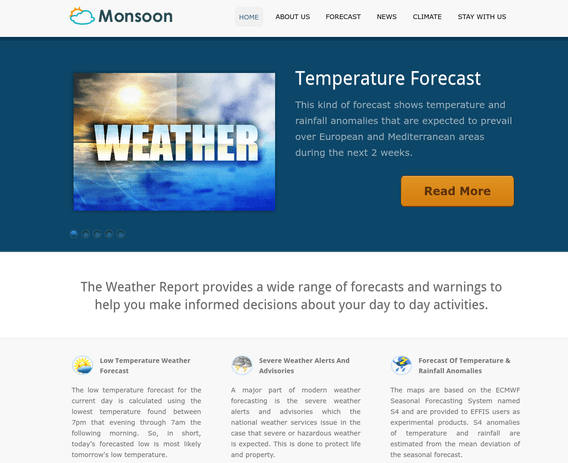 monsoon wp theme