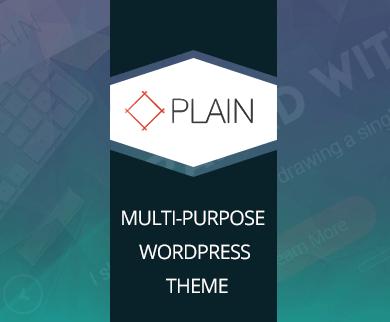 Plain - Multipurpose WordPress Business Theme