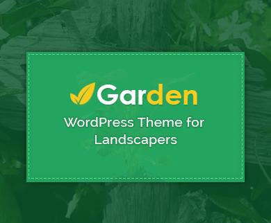 Garden - The Landscaping & Gardening WordPress Theme