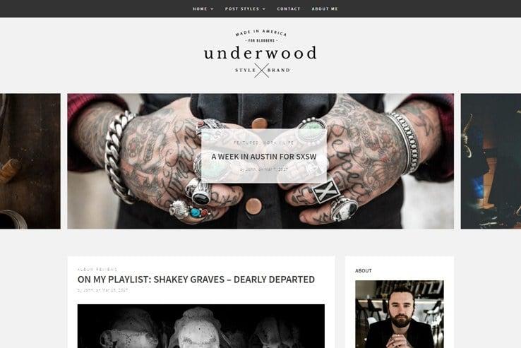 News Magazine WordPress Themes InkThemes - Blogger photography templates professional