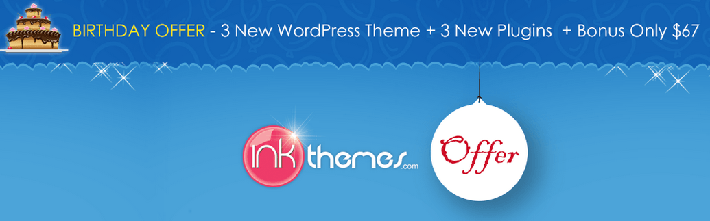 inkthemes b'day offer