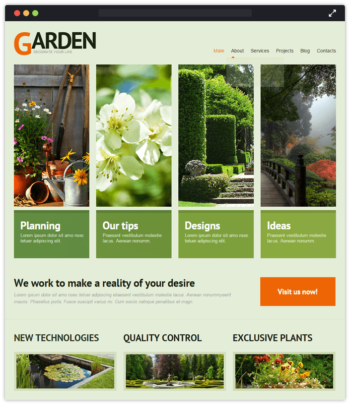 11 Best Landscaping Gardening Wordpress Themes 2020 Inkthemes