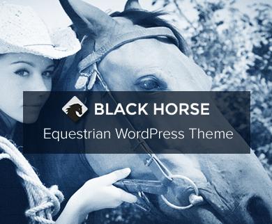 BlackHorse - Equestrian WordPress Theme