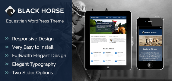 Equestrians WordPress Theme for Horse Riding Schools