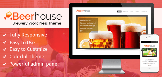 BEERHOUSE - BREWERY WORDPRESS THEME