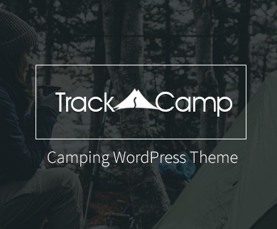 TrackCamp - The Camping WordPress Theme