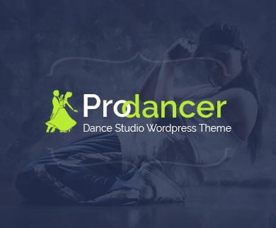 ProDancer - Dance Studio WordPress Theme