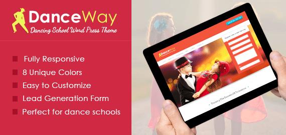 DanceWay – Dance School WordPress Theme